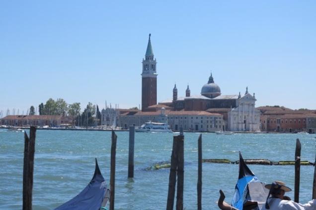 Across the lagoon to San Giorgio