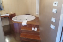 Huge bathroom and tub