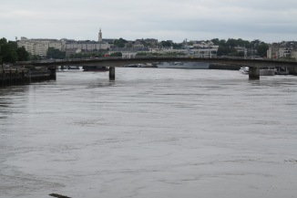 Crossing the Loire River